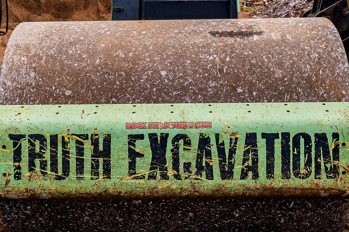truth excavation maui hawaii the brand name on a tractor